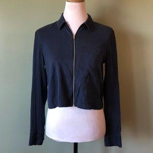 Alexander Wang lightweight jacket size 0 cropped